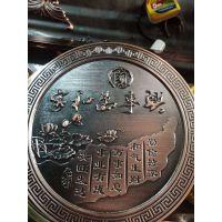 铜、铝金属材料浮雕设计加工