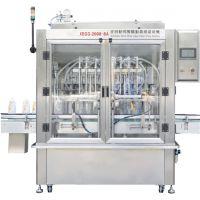 SFGG系列 全自动八头伺服驱动膏液活塞式灌装机