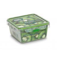 【香港品牌】透明方形1150ML pp塑料保鲜盒饭盒 冰箱保鲜食品储存盒 创意便当盒餐盒