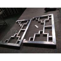 四平仿古型材铝挂落、铝屏风定制