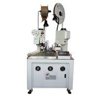 奔际 厂家直销自动双线合压机双线合压并打端子机压线机