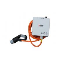 安科瑞汽车便携式壁挂安装充电桩AEV-AC007DB*1单枪刷卡二维码