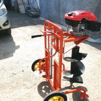 汽油植树挖坑机便捷式汽油挖坑机园林机械汽油打坑机挖坑机