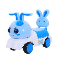 新款儿童扭扭车1-3岁宝宝助步滑行四轮玩具车带音乐摇摆车溜溜车