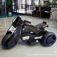 飓风儿童电动车三轮摩托车宝宝男女小孩玩具童车双驱动新款充电