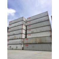 好消息!厂家特价出售一批二手集装箱12米平箱,12米高箱