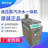 联科商用高温蒸汽冷水一体清洗机 汽车美容蒸汽清洗机 无水洗车机