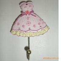 特价日韩风格英伦欧式花纹田园创意公主裙艺术衣帽挂钩