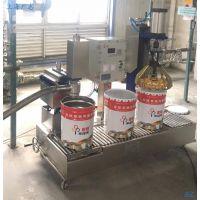 树脂胶液体自动灌装机上海广志自动化常压罐