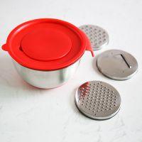 不锈钢打蛋盆加深搅拌防溅盖打发奶油防滑烘焙工具家用厨房和面盆
