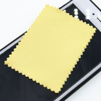 手机屏幕擦拭布 屏幕清洁布 可订制 材质颜色可选 印制LOGO印花 超细纤维