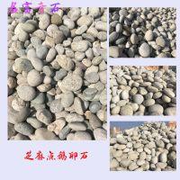 鹅卵石批发 芝麻点河卵石好看吗 10至20公分的鹅卵石多少钱一吨