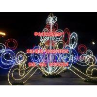 出口喀麦隆大胖雪人造型灯 三维立体图案灯 led圣诞灯3D雪人灯