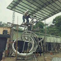 概念大师定制大型不锈钢雕塑玻璃钢金属雕塑广场户外铁艺公园人物园林雕塑