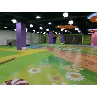 沈阳幼儿园图案定制地板设计、施工