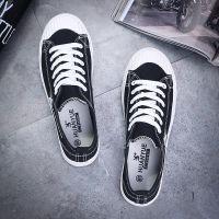 欢跃帆布鞋男平底休闲男鞋夏季2018新款男士布鞋S1105