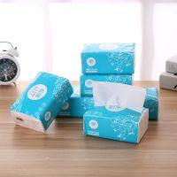 厂家直销原生木浆抽纸巾 家用餐巾纸酒店饭店卫生纸抽取式纸巾