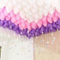 结婚庆用品生日会场快乐婚房装饰新房布置爱心形网格气球套餐