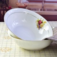 唐山批发陶瓷家用8寸菜盘 骨质瓷酒店餐具用饭盘 礼品餐具盘加工定制