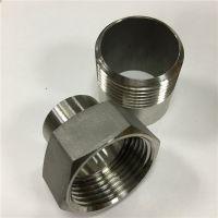 厂家定制不锈钢活接头 DN25 螺纹活接 304 管径25
