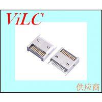 24P夹板短体TYPE C母座/PIN针加宽大电流 USB3.1 type CF接口