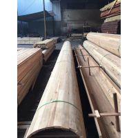 【古建筑板材加工】港榕木材供应商-原木木材仿古建筑