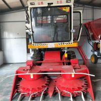 大型圆盘式牧草粉碎收割机 大型玉米秸秆青储粉碎机 青储机厂家