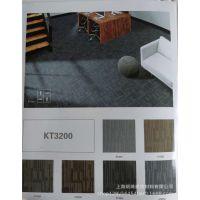 高品质方块地毯条纹藏蓝色地毯50*50cm酒店商务大楼地毯厂家批发