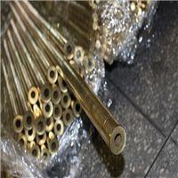 H62半硬黄铜毛细管 淋雨黄铜水管 H59厚壁黄铜管φ16 17 18 19 20mm