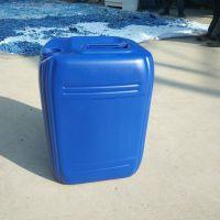 HDPE 20l化工桶食品级蓝色堆码桶滚塑塑料周转桶 重1.2kg塑料方桶