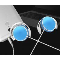 热销新款耳挂式耳机运动有线耳机线控带调音头戴耳麦手机耳机批发