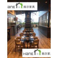 杭州海鲜自助餐厅桌椅定做 上海韩尔现代品牌