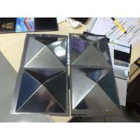 电镀PVC装饰板世禾定制电镀三维板电镀金色铜色银白色3D板广告板