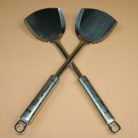 加厚不锈钢铲子 厨房工具 烹饪铲五元六元地摊赶集热卖 地摊配货