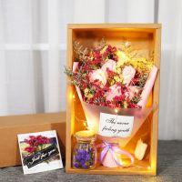 干花 优质小清新创意干花生日礼盒拍照道具卧室装饰餐厅摆饰