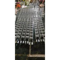 天津桥架式钢制拖链 电子设备水管钢铝拖链