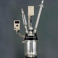 杭州艾普RV-610型真空反应器 10L/变频调速/转速数显/玻璃冷凝器