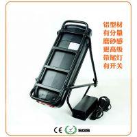 36V48V电动车锂电池12/15/18AH后衣架滑板车改装自行车电瓶车