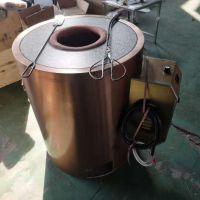 上海厂家直销不锈钢金色圆形锅盔炉 缙云烧饼炉子 烤红薯炉