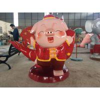 三水卡通猪造型雕塑 定做各款卡通猪制品