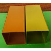 佛山盛粤直销各规格铝合金方管型材 表面阳极氧化颜色多种