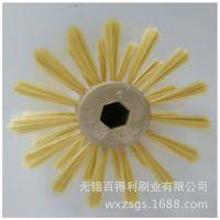 播种机专用圆盘刷 异形刷 水稻播种机配件摆盘机毛刷  厂家直销