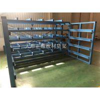 4米钢板货架抽屉式行车存放钢板省空间摆放整齐
