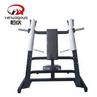恒庆直销坐式上斜推胸训练器圆动臂商用健身器材运动力量健身器械