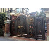 上海伟阔铁艺大门、铁艺大门定制、铁艺庭院门、铁艺进户门、铁艺入户门、铁艺护栏、定制铁艺栏杆