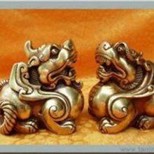 酒店黄铜貔貅铸造厂-酒店黄铜貔貅-博轩铜雕厂