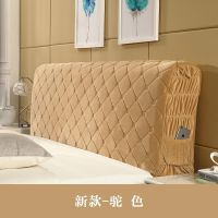 床头套罩1.8m床 欧式布艺公主风床头靠背套 1.5m实木软包皮床头罩