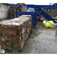 四川120吨卧式废纸打包机 废纸液压打包机价格