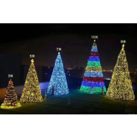 安徽大型圣诞树生产厂家 圣诞节气氛布置安装公司