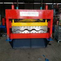 地鑫全自动集装箱板机 集装箱房侧墙瓦楞板成型设备